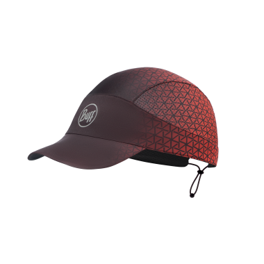 BUFF® PACK RUN CAP EQUILATERAL RED