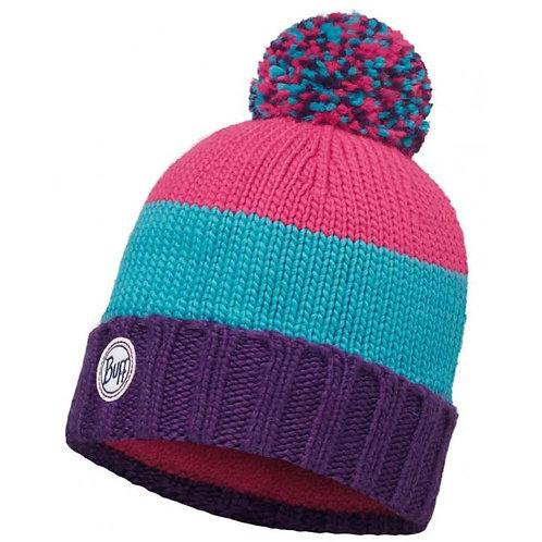 BUFF® Knitted & Polar Hat - BERNA PLUM