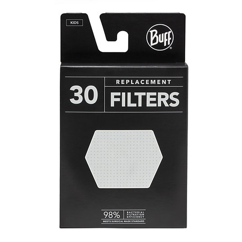 BUFF Kids Replacement Filter Pack - 30 Filters