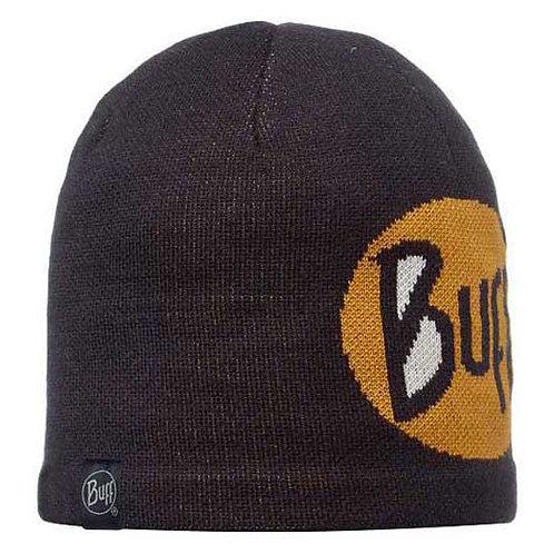 BUFF® KNITTED HAT BLACK LOGO HAT