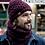 Thumbnail: BUFF® Knitted & Polar Hat - HELLE WINE