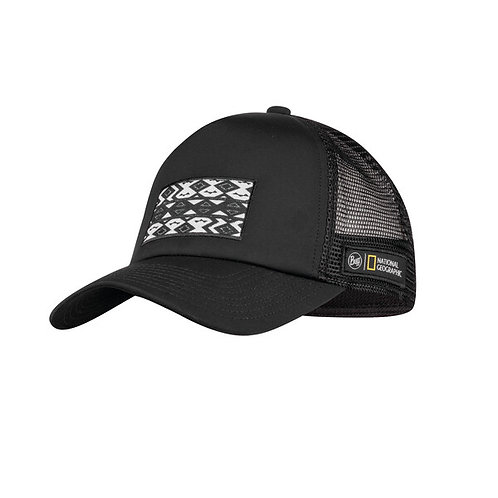 BUFF® National Geographic Trucker Cap THABO BLACK