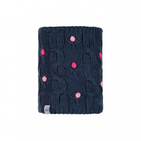 BUFF® JUNIOR KNITTED & POLAR NECKWARMER - DYSHA DARK NAVY