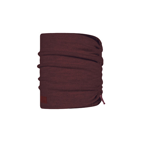 BUFF® Merino Wool Fleece Neckwarmer -Maroon