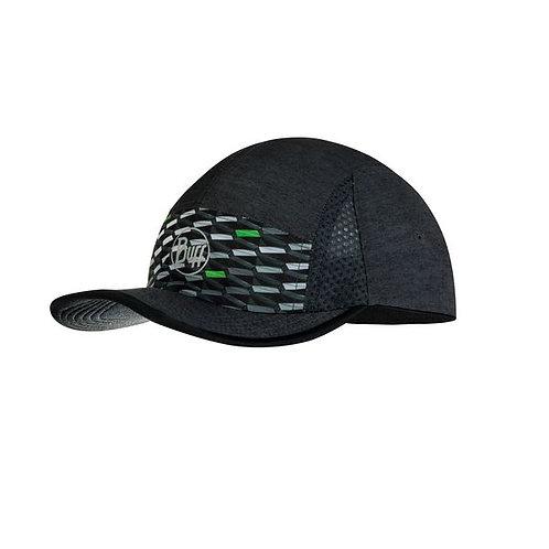 BUFF®RUN CAP R-GEOTRIK BLACK