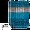 Thumbnail: BUFF® NECKWARMER KNITTED STIG TEAL BLUE