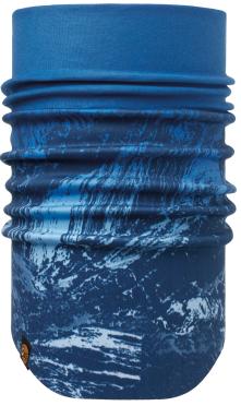 BUFF® WINDPROOF NECKWARMER MOUNTAIN BITS BLUE