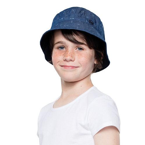 BUFF® BUCKET HAT KIDS - ARROWS DENIM