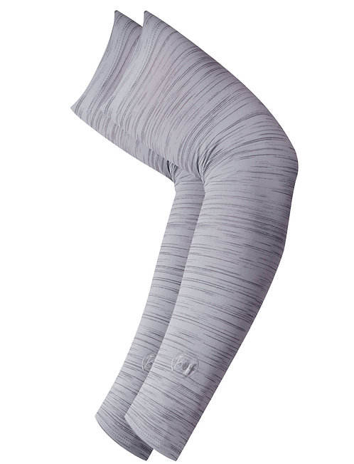 BUFF® UV+ ARM SLEEVES - LIGHT GREY HEATHER