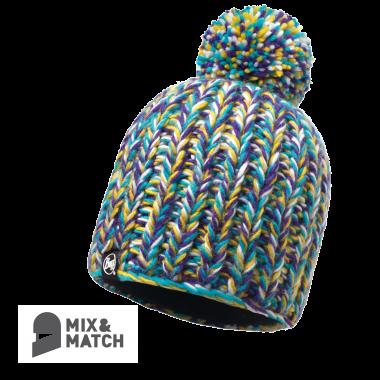 BUFF® Knitted & Polar Hat - SKYLER PURPLE RASPBERRY