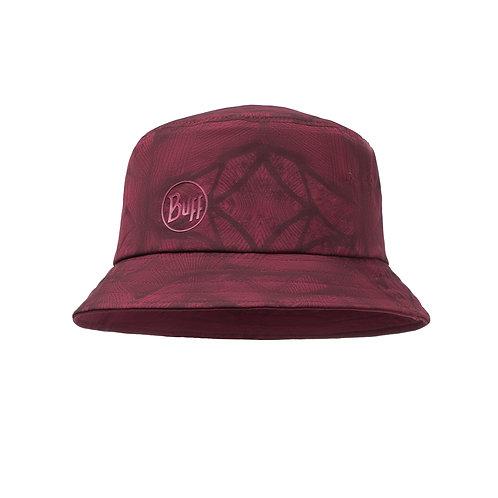 BUFF® Trek Bucket Hat - Calyx Dark Red