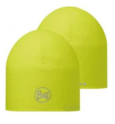 BUFF® COOLMAX REVERSIBLE HAT SOLID YELLOW