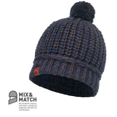 BUFF® KNITTED HAT DEAN NAVY
