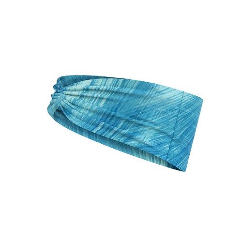 BUFF® Coolnet® UV+ Tapered Headband - Pixeline Turquoise