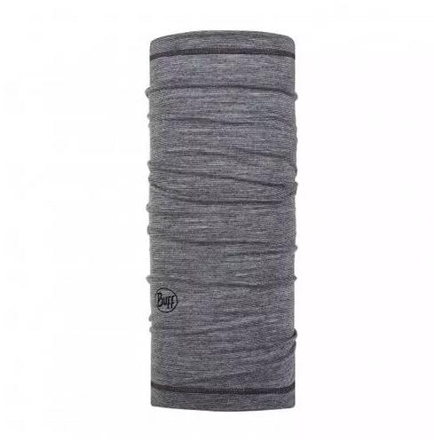 BUFF® Junior Lightweight Merino Wool Tubular - Grey Multi Stripes