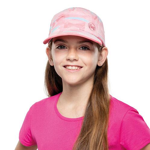 BUFF® 5 PANELS CAP JUNIOR - HEAVENS PINK