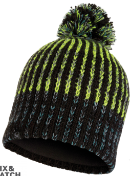 BUFF® KNITTED HAT IVER BLACK
