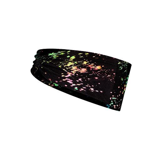 BUFF® Coolnet® UV+ Tapered Headband - Speckle Black