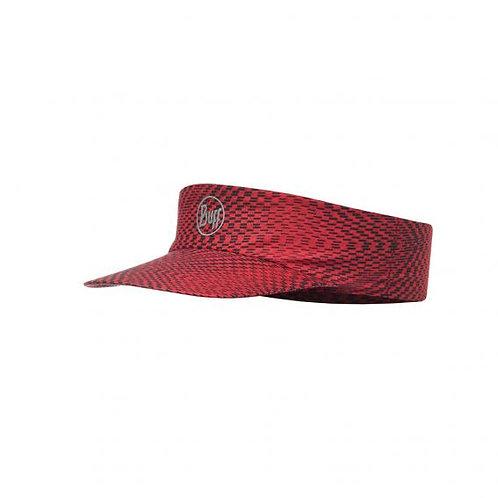 BUFF® COOLMAX PACK RUN VISOR - R-JAM RED