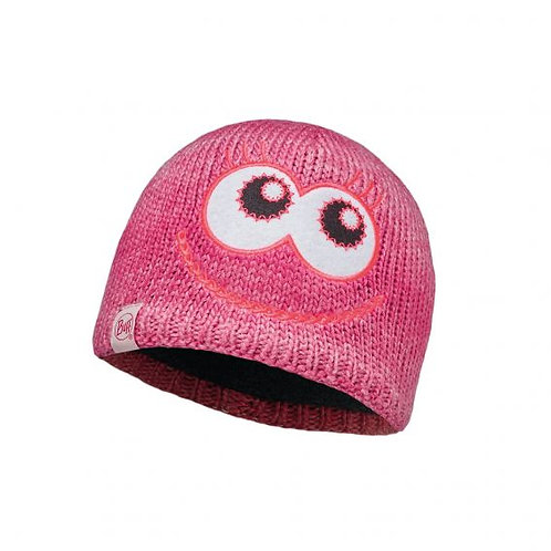 BUFF® CHILD KNITTED HAT - Monster Merry Pink