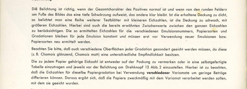 Agfa Beschreibung Variomat Seite 10