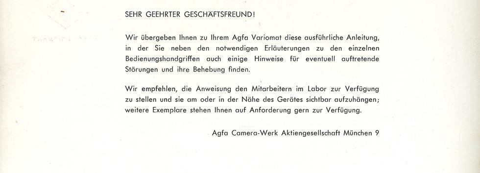 Agfa Beschreibung Variomat Seite 2