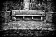 The Bench at the Tennis Pavillion