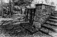 Limestone Path and Retaining Wall