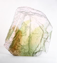 Cast glass from ice