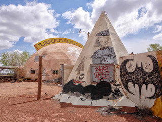 Terrified Wood, Artistic Desert & Another Ghost 'Town'…