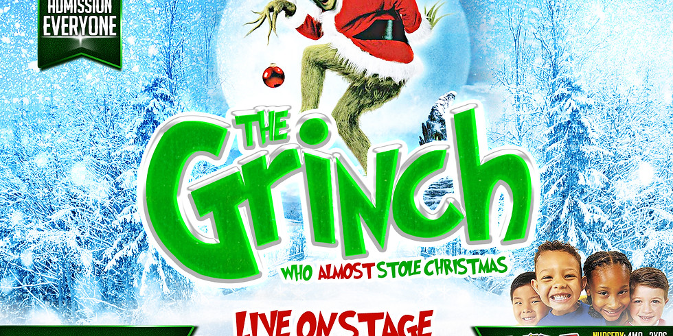 THE GRINCH (Live on Stage)