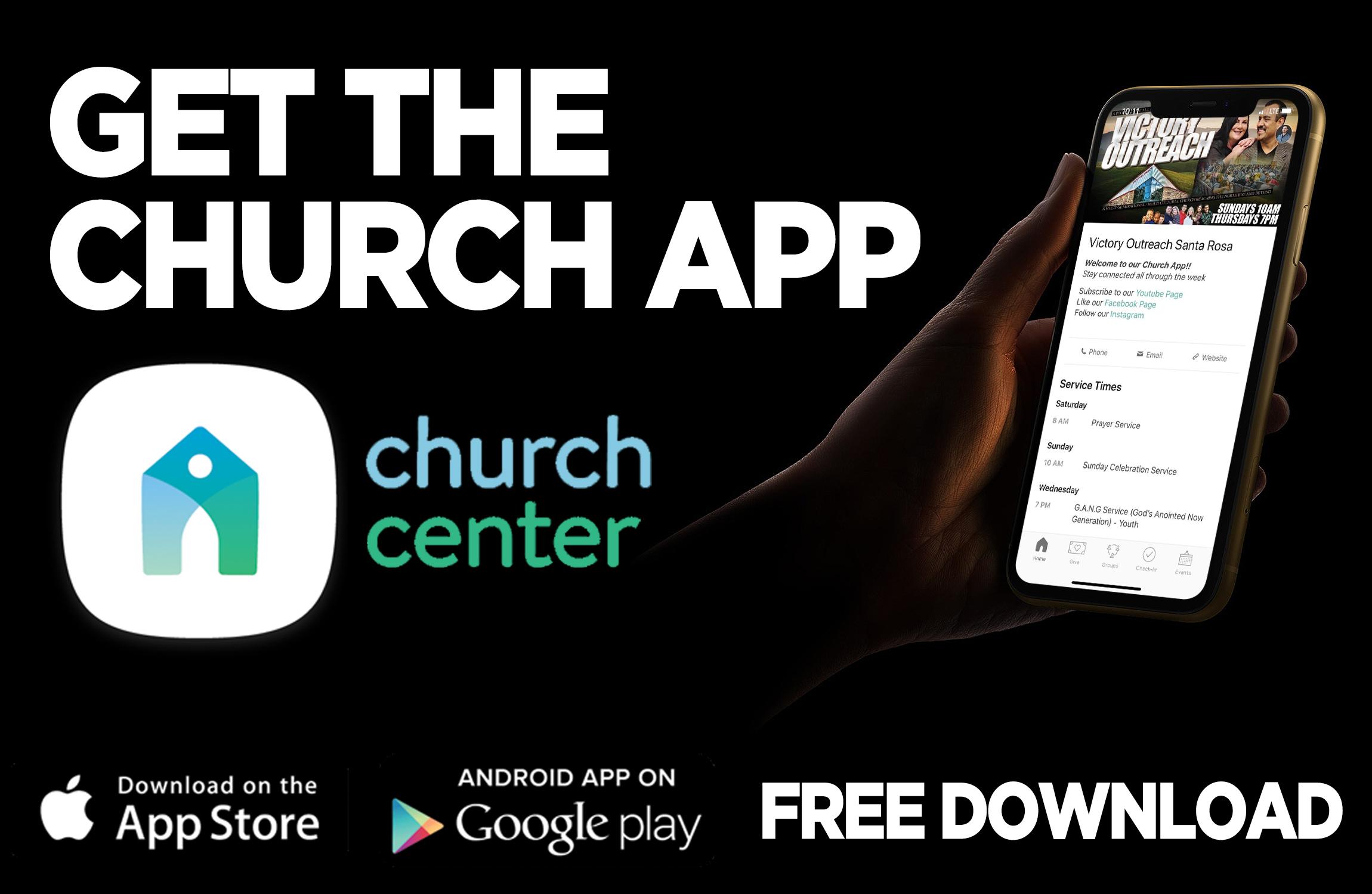 CHURCH APP SCREENS