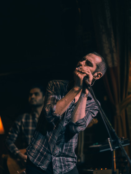 Dear Banshee live at the Golden Bull in Oakland, California. Live music scene in the Bay Area. Photographed with the SonyA7sii