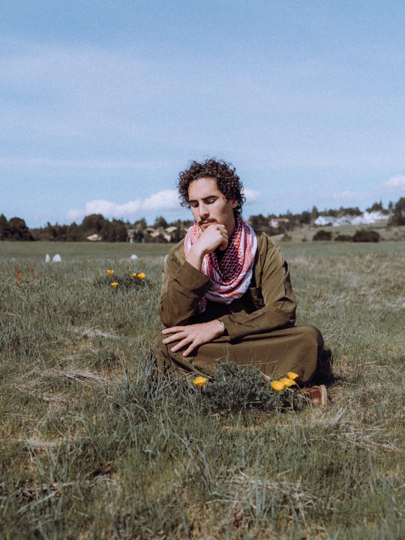 Model at UCSC. in Santa Cruz, California.