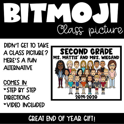 Bitmoji Class Picture
