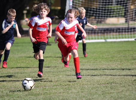 Step up for under 8's