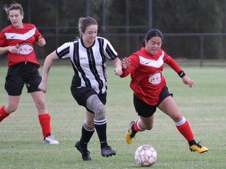 Another win for the Busselton City FC Sports Power Ladies