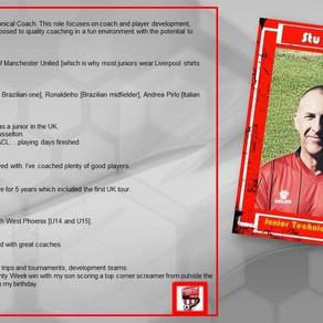 Stu Farmer Junior Technical Coach