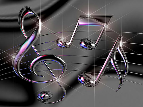 Dancing Musical Notes