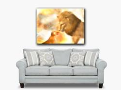 LionFatherAndSonSofa