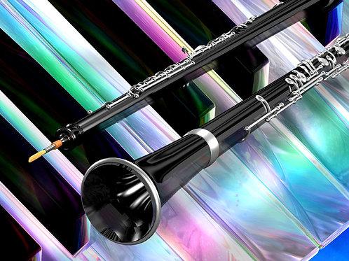 Colorful Oboe