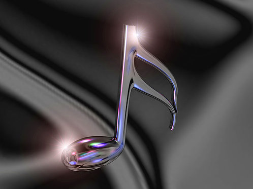 Musical Note Reflections