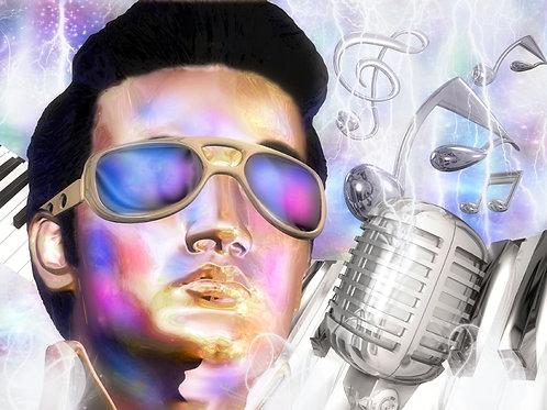 Elvis Icon Reflections