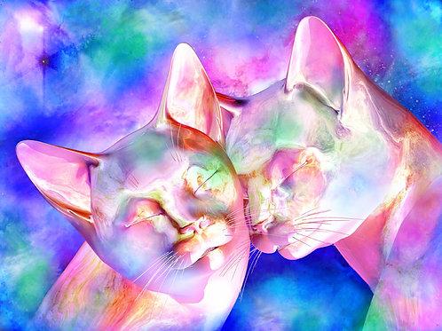 Soul Mate Kitty Snuggle