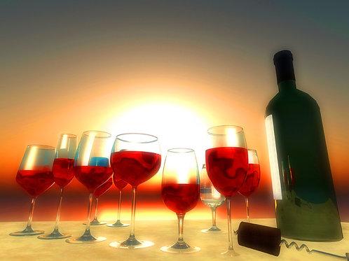 Wine Tasting on the Beach