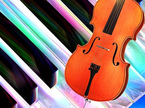 Colorful Cello