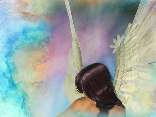Divine Guardian Angel Heart and Soul