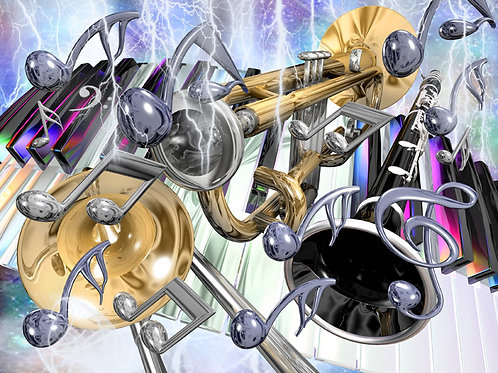 Musical Energy Rhythm