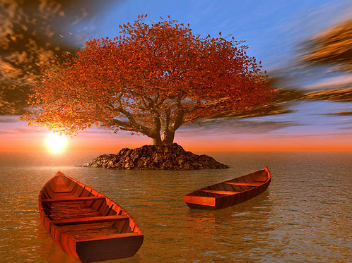 Canoes and a Small Island Fantasy
