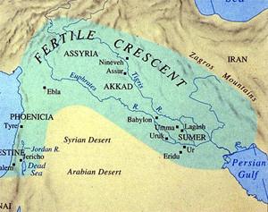 حكايتي مع تراث حضارات الهلال الخصيب باختصار